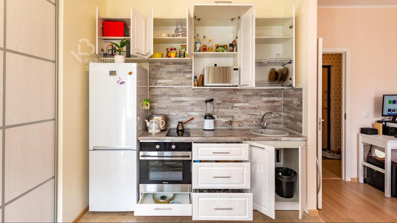 Встроенные кухни: фото, плюсы и минусы встроенного духового шкафа в интерьере